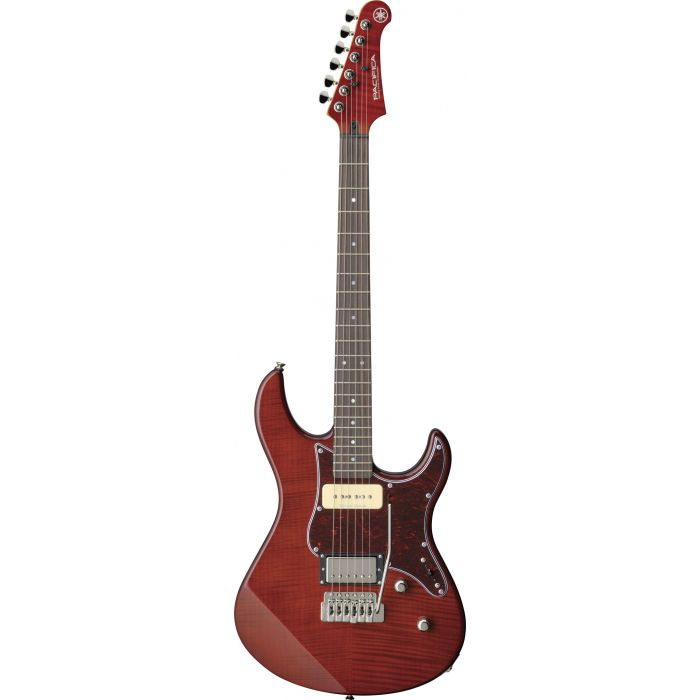 Yamaha Pacifica 611VFM Guitar in Root Beer Vibrato Tremolo Flame maple
