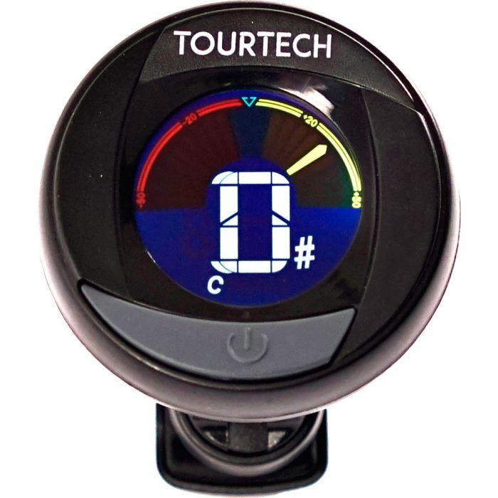 TourTech TTA-T01 Colour Screen Clip-On Tuner