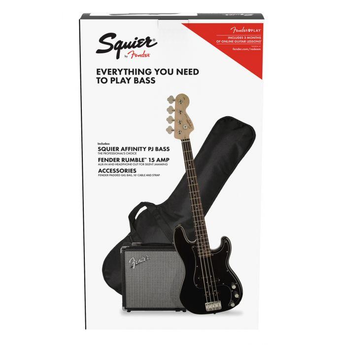 Squier Affinity Precision Bass PJ Pack Black