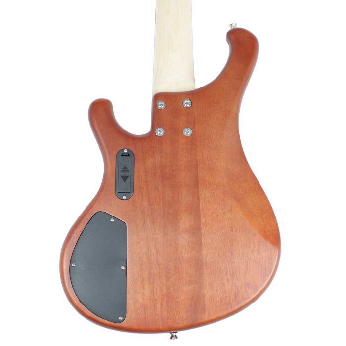 Eastcoast GTB510-N 5-String Bass Guitar Natural Rear