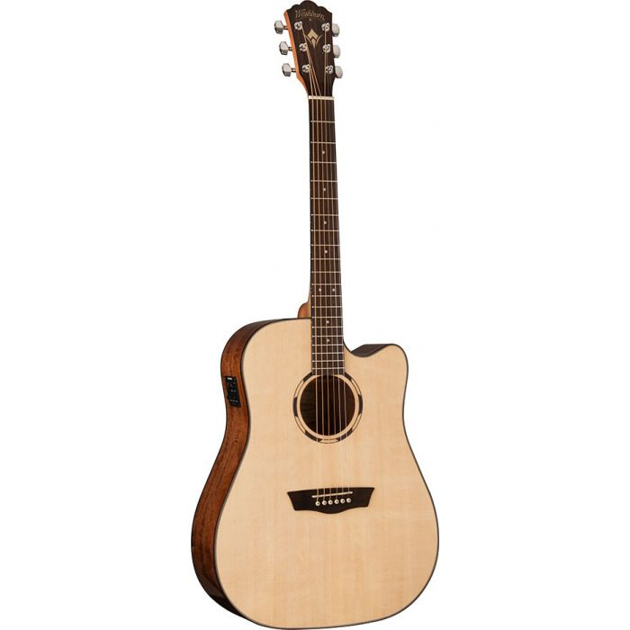 Washburn Woodline D10SCE Dreadnought Electro-Acoustic Guitar