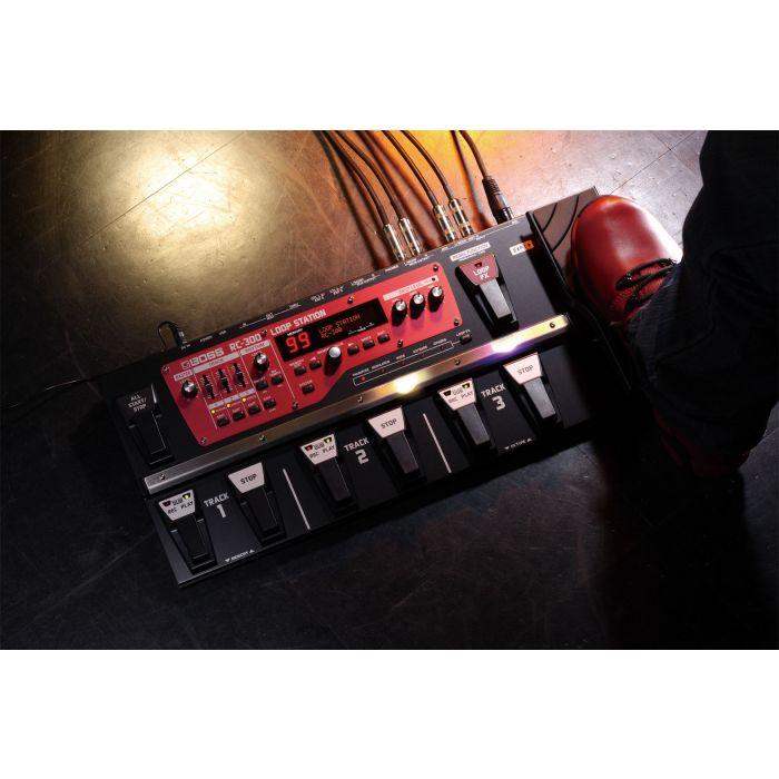 Boss RC300 Loop Station Guitar Pedal