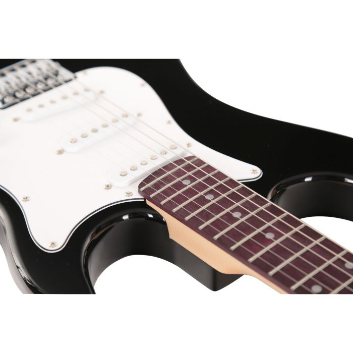 Eastcoast GS100 Electric Guitar in Black Body