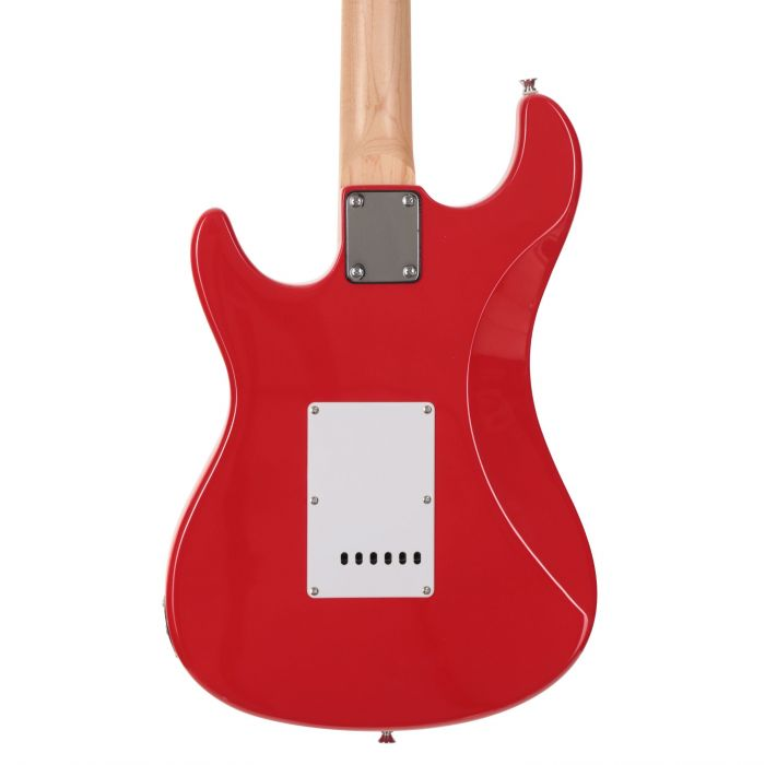 Eastcoast GS100 Electric Guitar in Race Red Rear