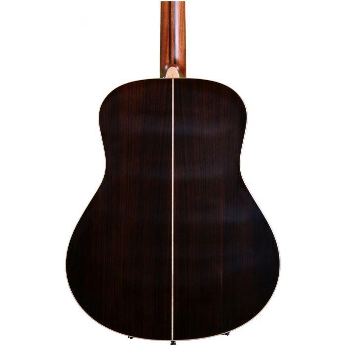 Yamaha LL16BSARE Acoustic Guitar, Brown Sunburst rear