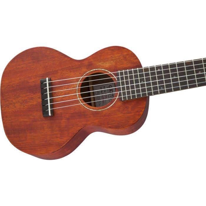 Grestch G9126 Guitar-Ukulele Honey Mahogany Stain front closeup