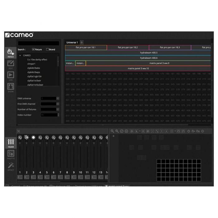 Cameo DVC 4 DMX Software