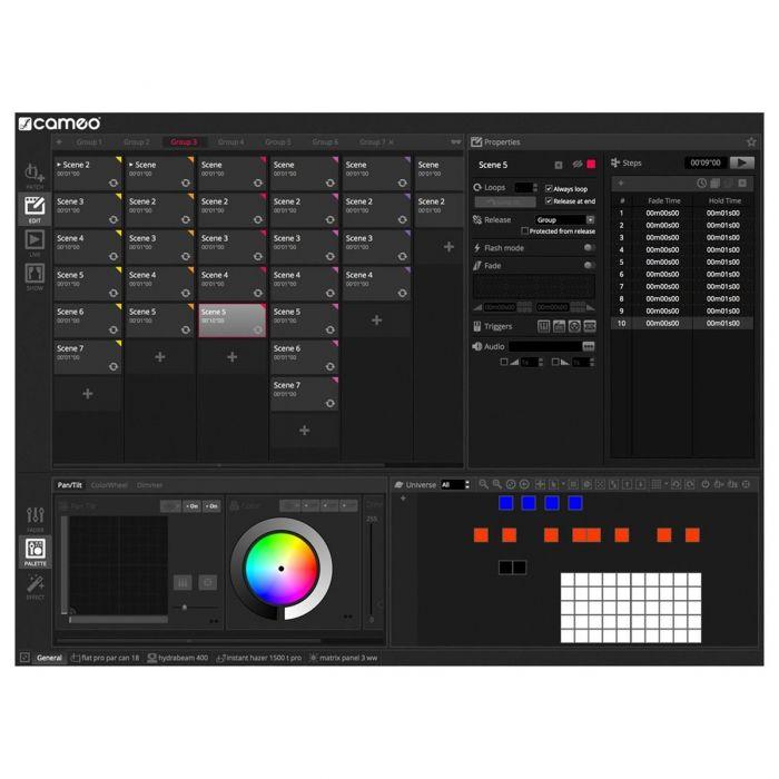 Cameo DVC 4 DMX Software 2