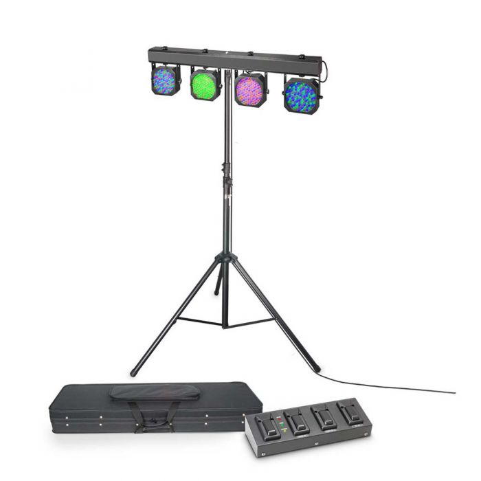 Cameo Multi Par 1 Set 432 x 10mm LED Lighting System with Case