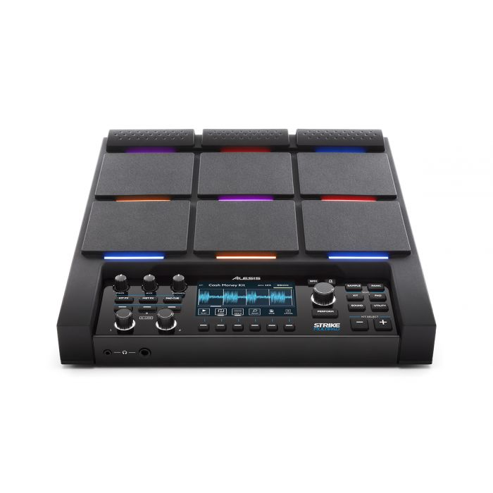 Alesis Strike MultiPad Percussion Pad with Sampler and Looper Front Angle