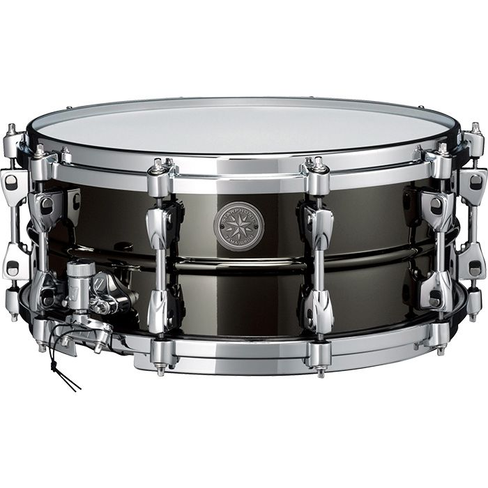 """PST146 Tama Starphonic Limited Edition Black Steel 14"""" x 6"""" Snare Drum"""