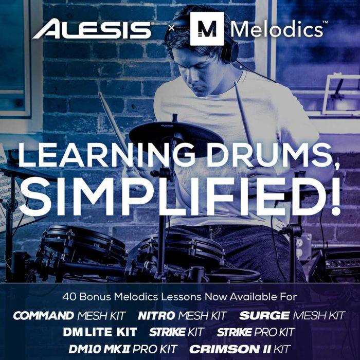 Alesis x Melodics Promo Code for 40 Bonus Lessons