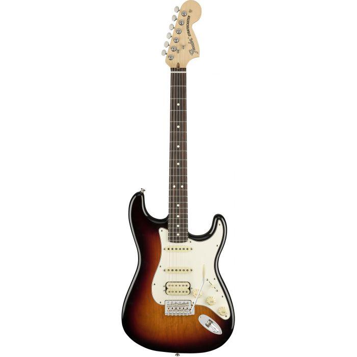 Fender American Performer Stratocaster HSS RW 3-Colour Sunburst