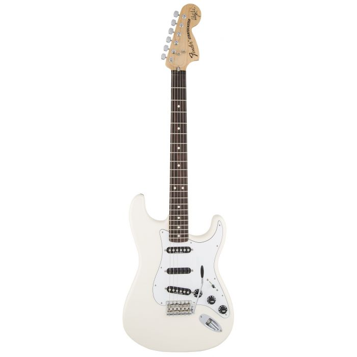 Fender Ritchie Blackmore Stratocaster Olympic White front