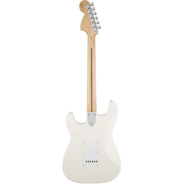 Fender Ritchie Blackmore Stratocaster Olympic White rear