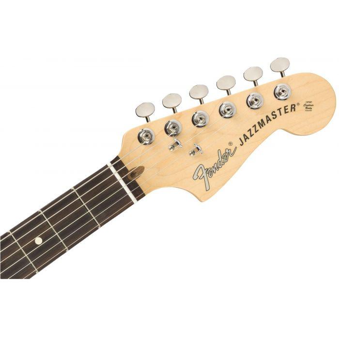 Fender American Performer Jazzmaster 3-Colour Sunburst Headstock