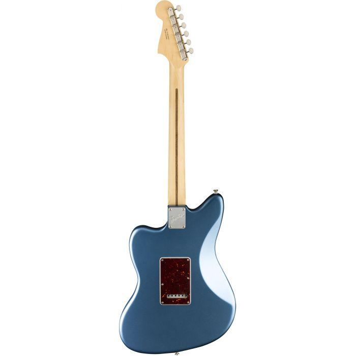 Fender American Performer Jazzmaster Satin Lake Placid Blue Back