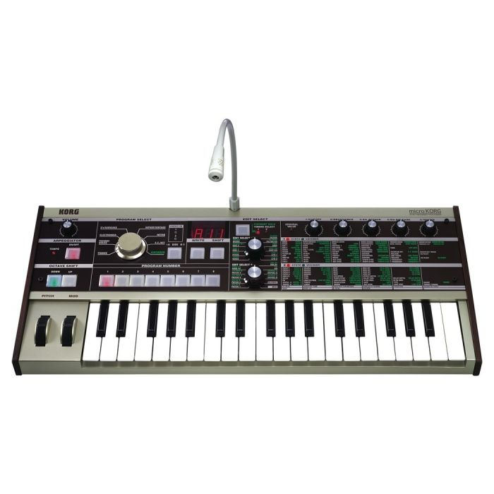 Korg Microkorg Synthesizer and Vocoder angle