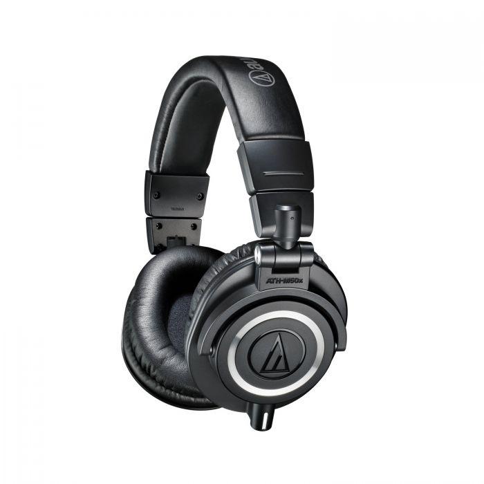Audio Technica ATH-M50X Studio Headphones Angle