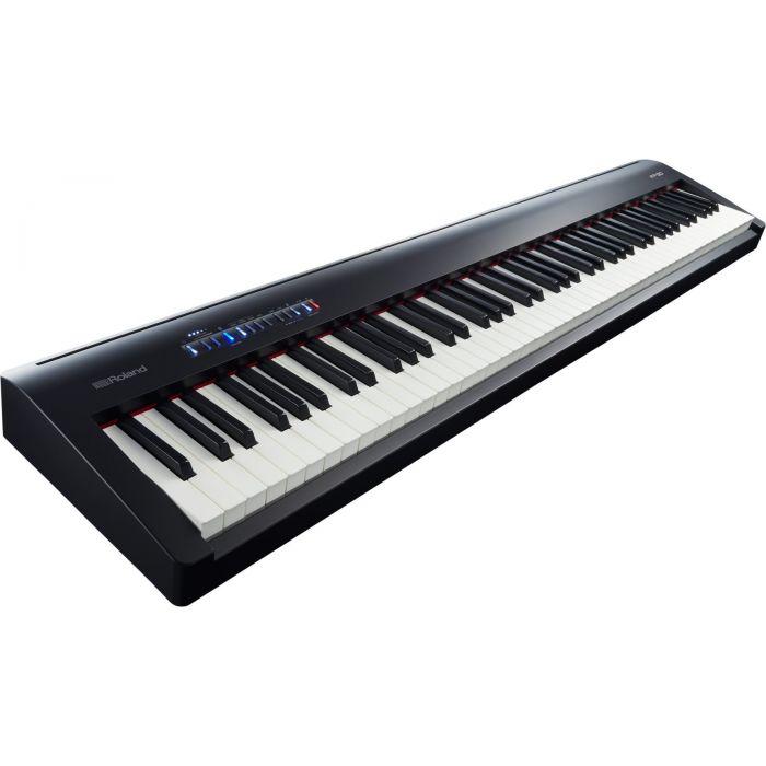 Roland FP-30 Piano Black Angle