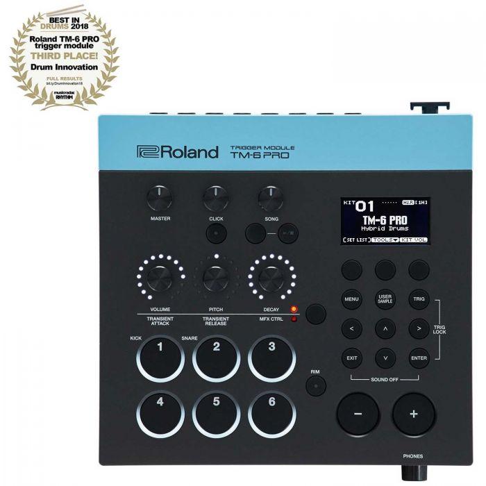 Roland TM-6 PRO Trigger Module with Rhythm Magazine Drum Innovation Award