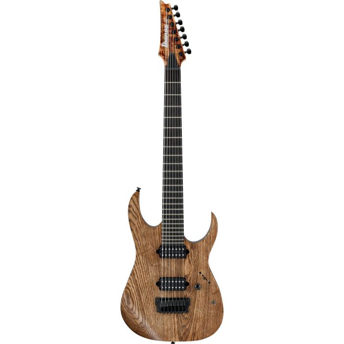 Ibanez Iron Label RGIXL7 27-inch Scale Antique Brown Stained Low Gloss front