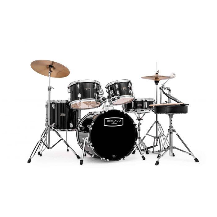 "Mapex Tornado 18"" Fusion Drum Kit in Black"