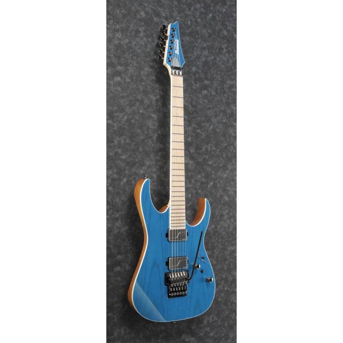 Ibanez RG5120M Electric Guitar Frozen Ocean front tilt