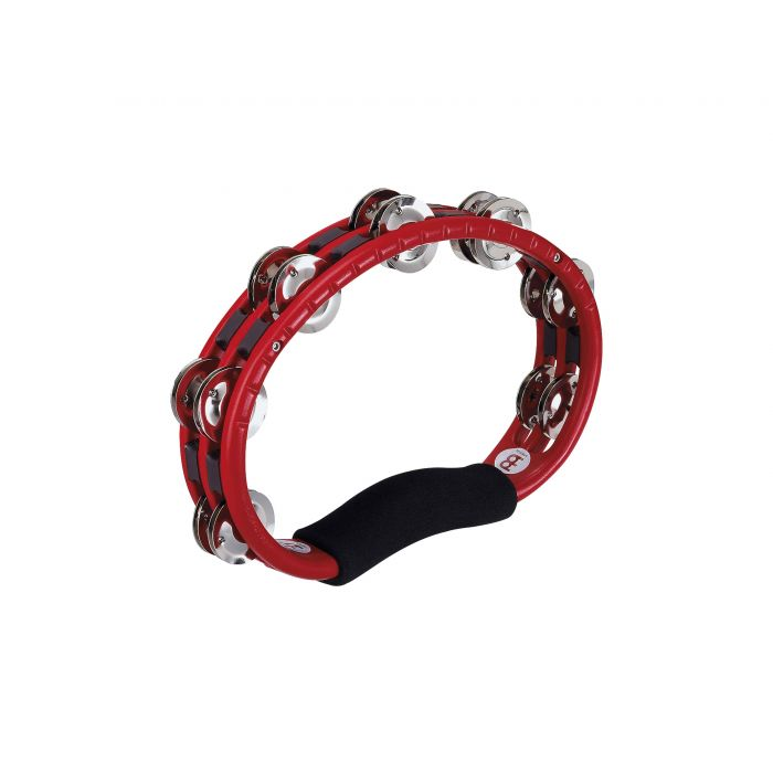 Meinl Hand Held Traditional Tambourine in Red