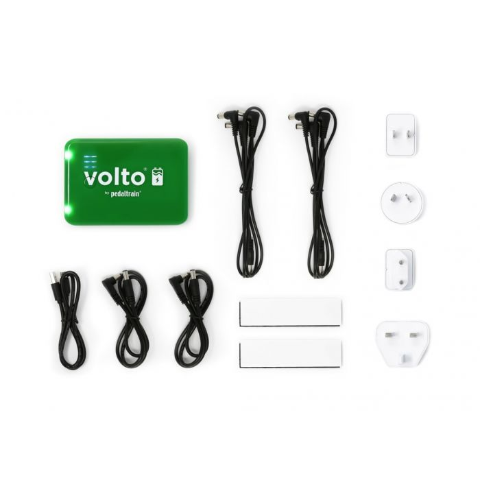 Pedaltrain Volto 3 Rechargeable Guitar Pedal Power Supply Accessories