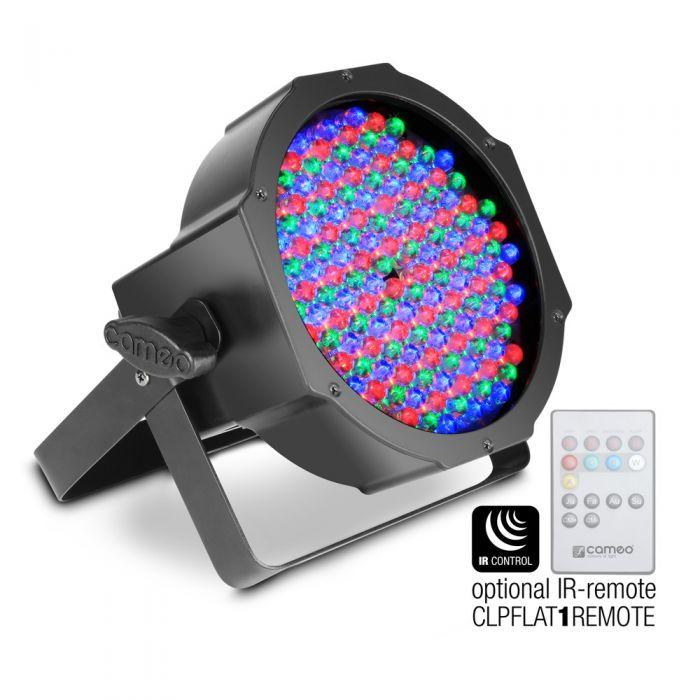 Cameo FLAT PAR RGB 10 IR Single Par Uplighter