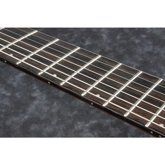 Ibanez RGD71AL 7-String Multi-Scale Black Aurora Burst Matte fretboard
