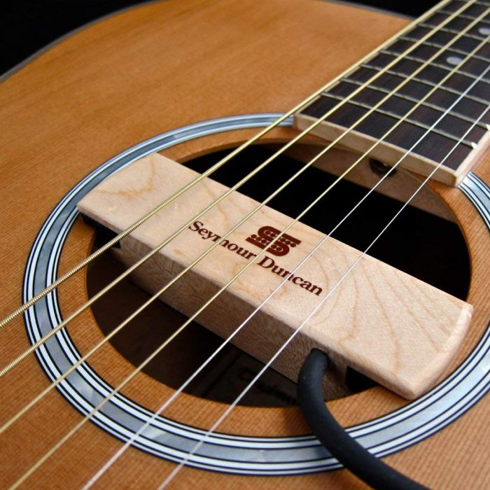 Seymour Duncan Woody SA-3HC Acoustic Guitar Soundhole Pickup Mounted