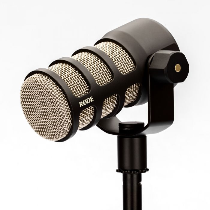 Rode PodMic Dynamic Podcast Microphone Angle