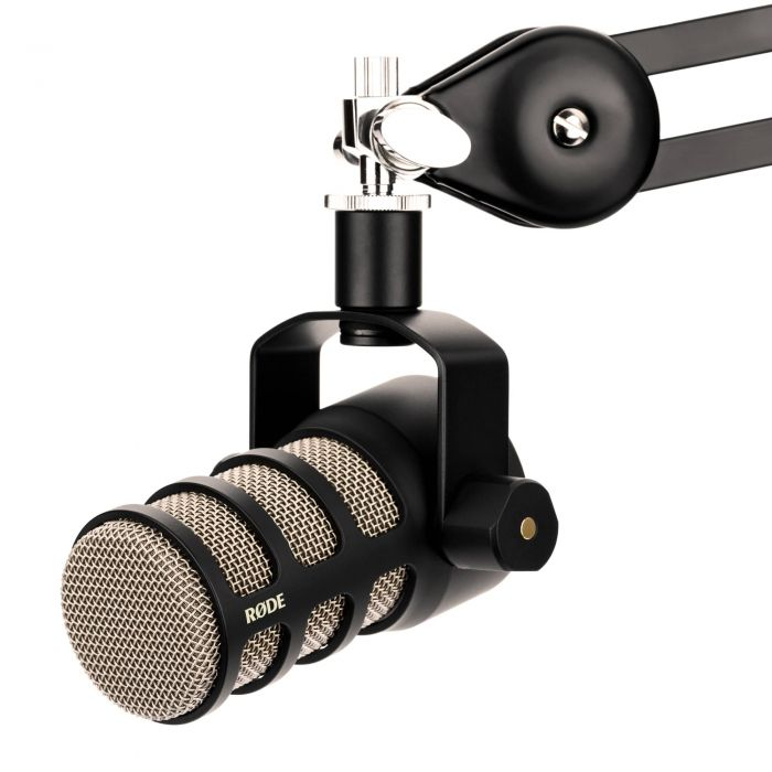 Rode PodMic Dynamic Podcast Microphone Front