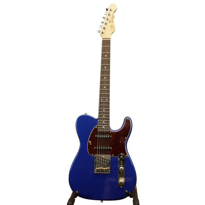 G&L ASAT Classic Basswood Electric Guitar Midnight Blue