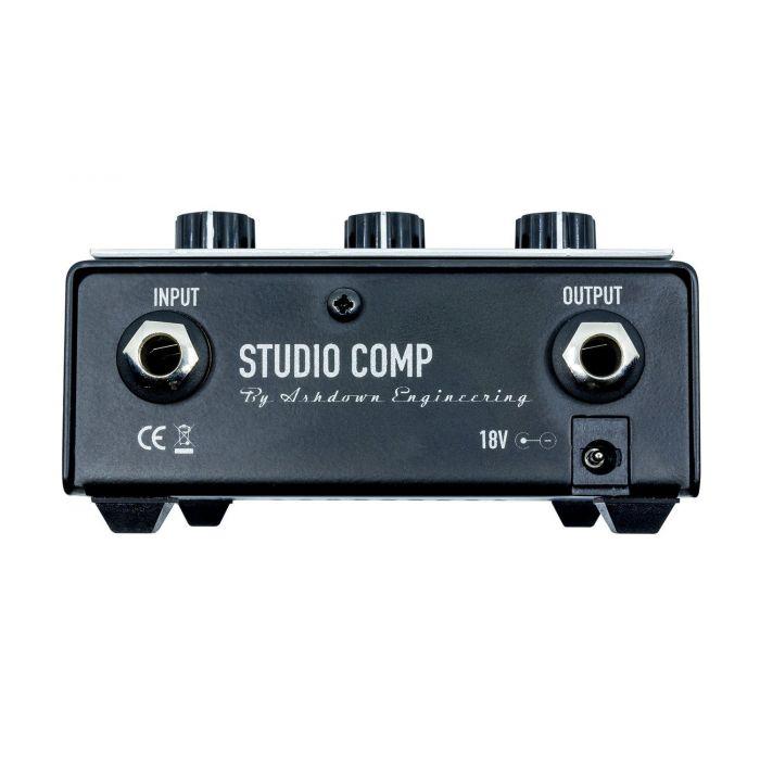 Ashdown Studio One Compressor PRO FX Pedal rear panel