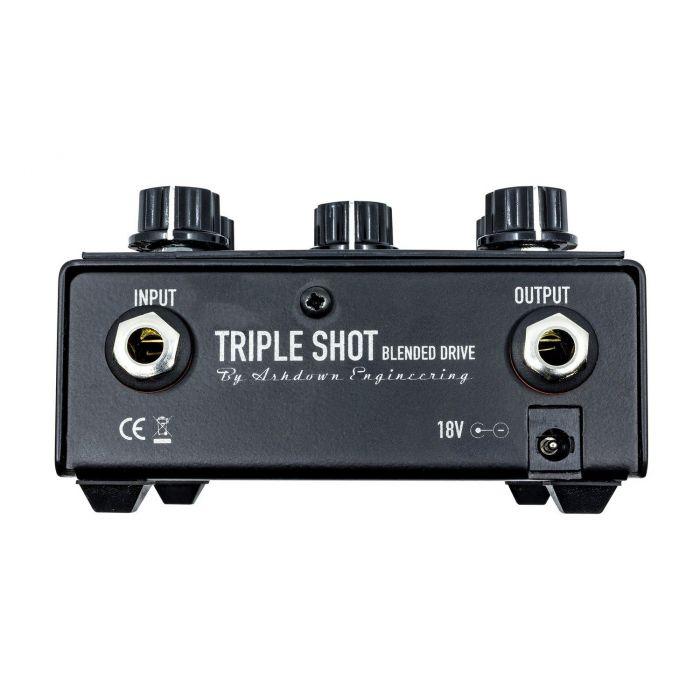 Ashdown Triple Shot Tri Band Blendable Bass Drive pro fx rear panel