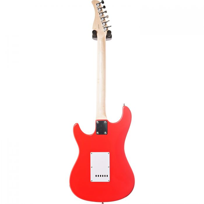 Eastcoast GS100H-RED HSS Electric Guitar Rear