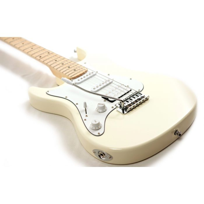 Eastcoast GS100H HSS Left-Handed Electric Guitar, Arctic White