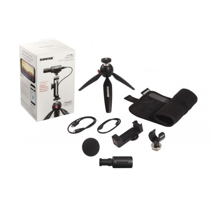 Shure MV88+ Video Microphone Kit