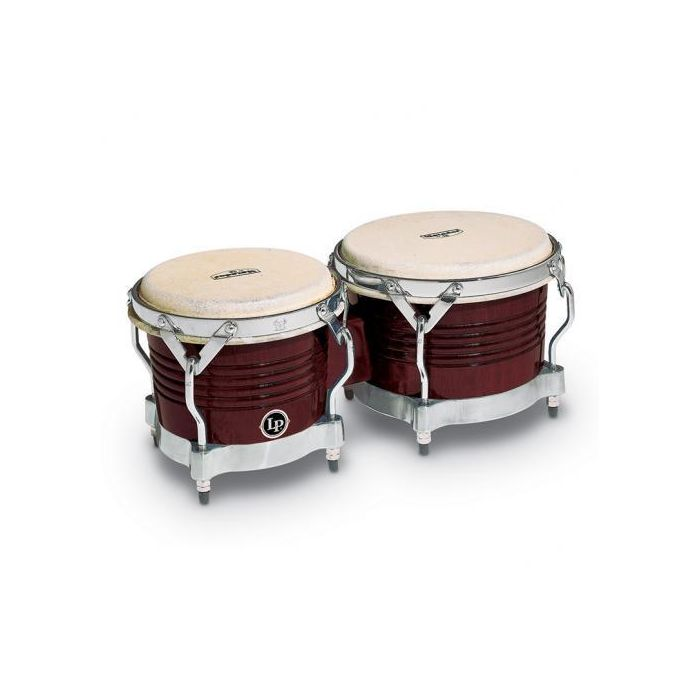 Latin Percussion Matador Series Almond Brown Wood Bongos