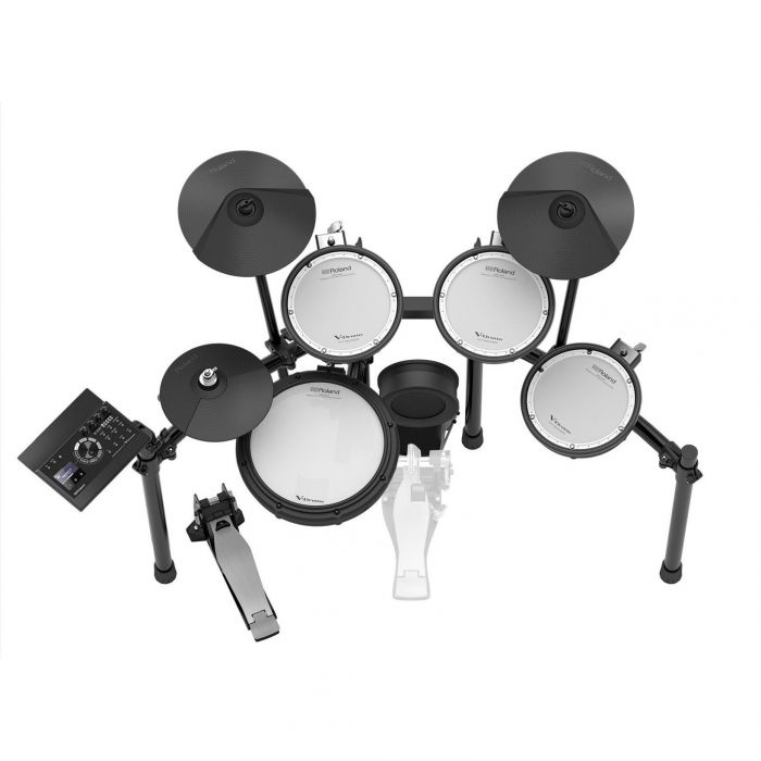 Roland TD17KV Electronic Drum Kit Overhead View