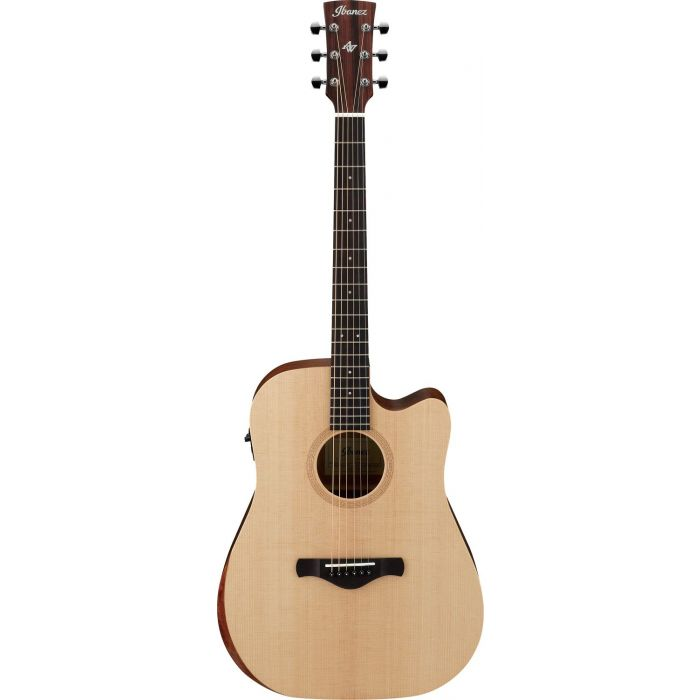 Ibanez AW150CE Artwood Electro Acoustic Guitar, Open Pore Natural