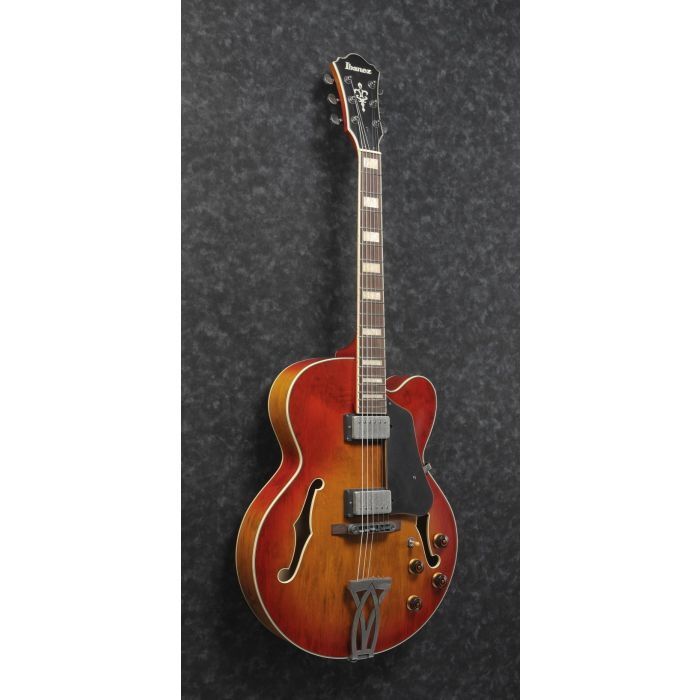 Ibanez AFV75-VAL Angle Full Guitar Front