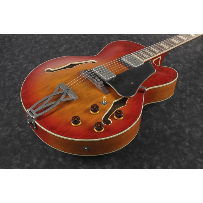 Ibanez AFV75-VAL Body Guitar Front Angle