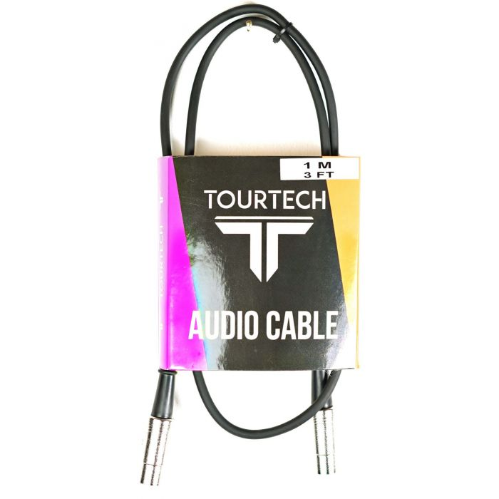TOURTECH TTAC-MD1 1m Metal MIDI Cable Package