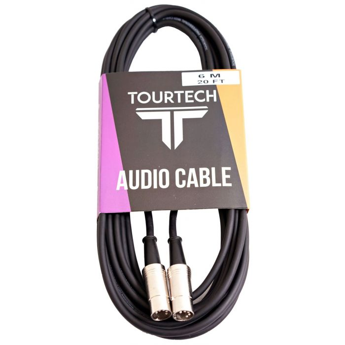 TOURTECH 20ft Injunction Style MIDI Cable Package