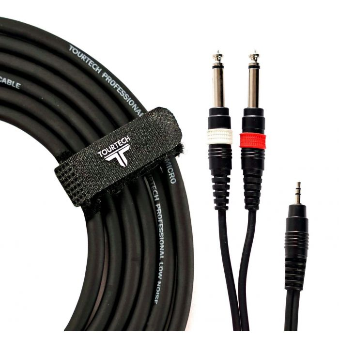 Mini Stereo Jack to Dual Jack Cable