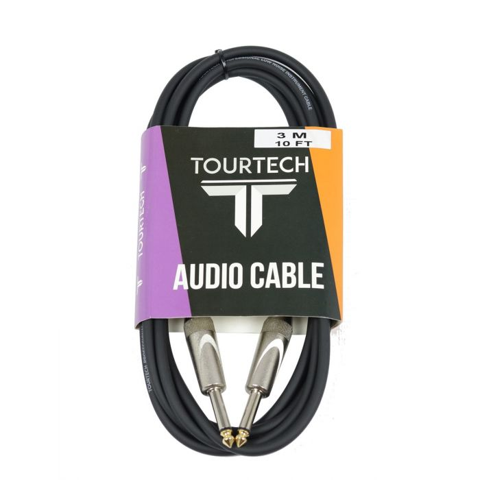 TOURTECH TTIC-3DL 3m Deluxe Instrument Cable in Packaging